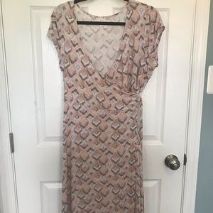 A-Glow Maternity Wrap Dress